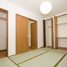 神戸市灘区2世帯新築一戸建て注文住宅自然健康耐震住まいマイホーム見学会主寝室