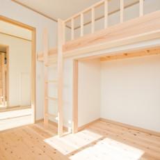 神戸市灘区2世帯新築一戸建て注文住宅自然健康耐震住まいマイホーム見学会子供部屋