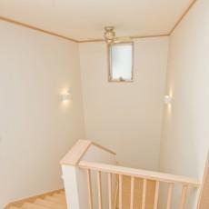 神戸市灘区2世帯新築一戸建て注文住宅自然健康耐震住まいマイホーム見学会廊下