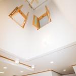 神戸市須磨区2世帯新築一戸建て注文住宅自然健康耐震住まいマイホーム見学会放感を演出する吹き抜け