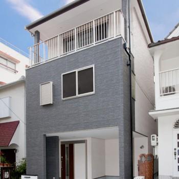 神戸市中央区自然健康耐震新築一戸建て注文住宅WB工法お建て替え事例 神戸の注文住宅なら神戸市内限定・毎年無料点検の「こべっこハウス」