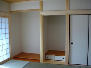 土地 神戸 注文住宅 床の間(1)