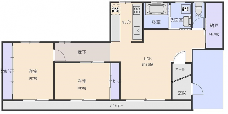 【賃貸・部屋探し】メゾン佐伯 3F