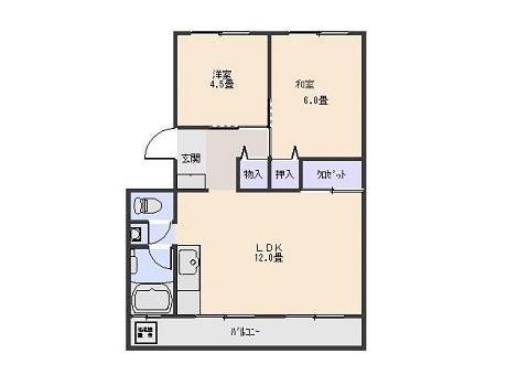 【賃貸・部屋探し】吉川ハイツ 201