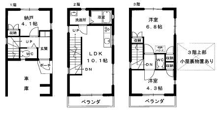 新築一戸建て 神戸市兵庫区荒田町1 2690万