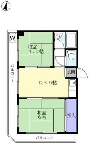 【賃貸・部屋探し】天城ハイツ 3階E号室