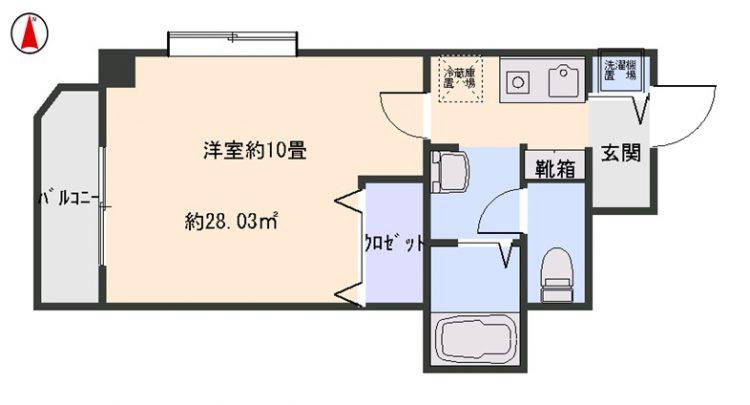 【賃貸・部屋探し】アイビスパーク 406