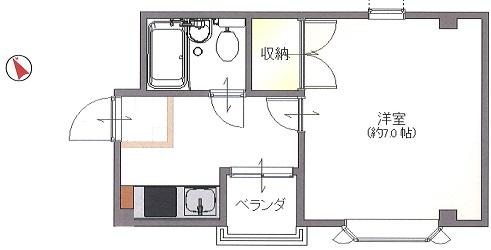 【賃貸・部屋探し】中崎マンション 4階