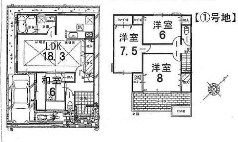 新築戸建 神戸市長田区川西通3 3980万 1号地