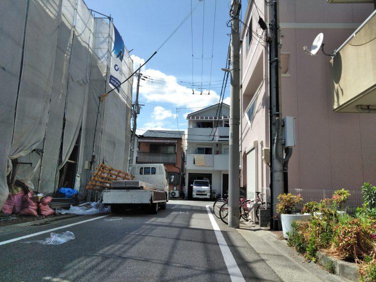 長田区菅原通3 新築戸建1号地 3780 接道1