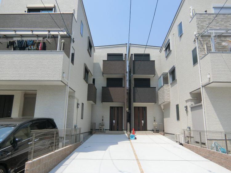 東灘区御影塚町 新築戸建 4850 B号地 外観