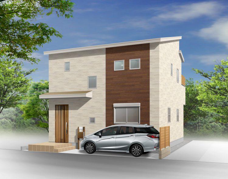 新築事例~利便性の良い密集地でも明るさを確保した『WB HOUSE』