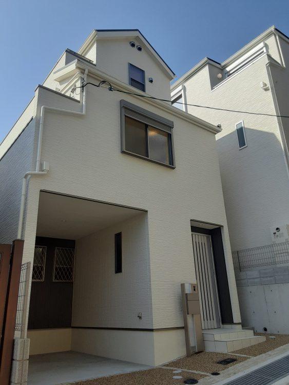 中央区熊内町5 新築戸建 5580 C号地 外観