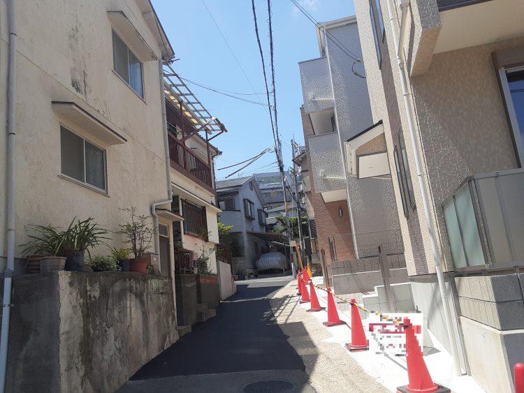 灘区赤坂通6 新築戸建 5180 D号地 接道1