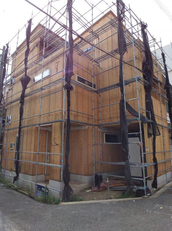 垂水区星陵台5 新築戸建 3480 現状