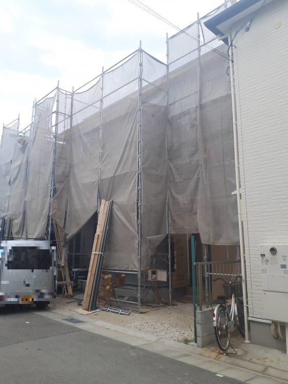 兵庫区吉田町2 新築戸建C-2 4580 現状