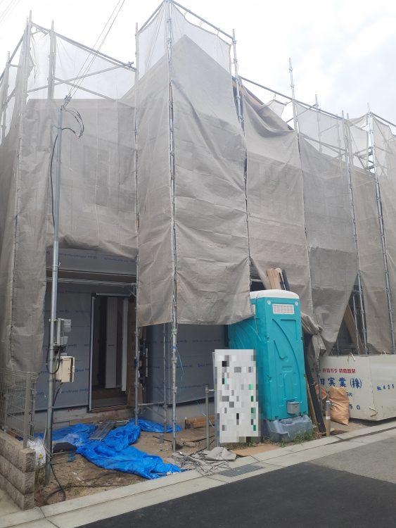 兵庫区吉田町2 新築戸建C-1 4580 外観